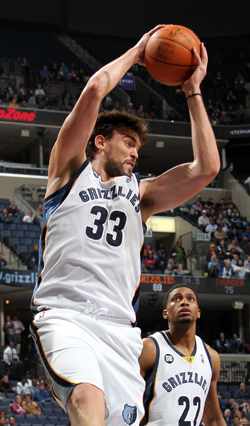 Gasol-Copyright 2012 NBAE - Photo by Joe Murphy/NBAE via Getty Images