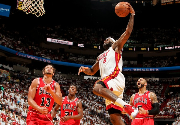 Chicago Bulls vs Miami Heat - Game Two
