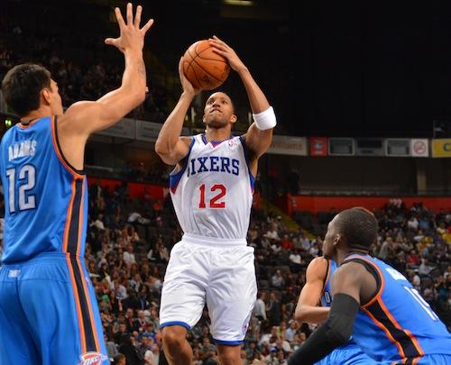 Oklahoma City Thunder v Philadelphia 76ers-NBA Global Games