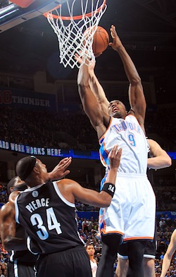 Brooklyn Nets v Oklahoma City Thunder