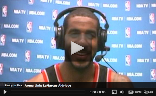 WEB-Around the League-LeMarcus-Aldridge-18JAN2014