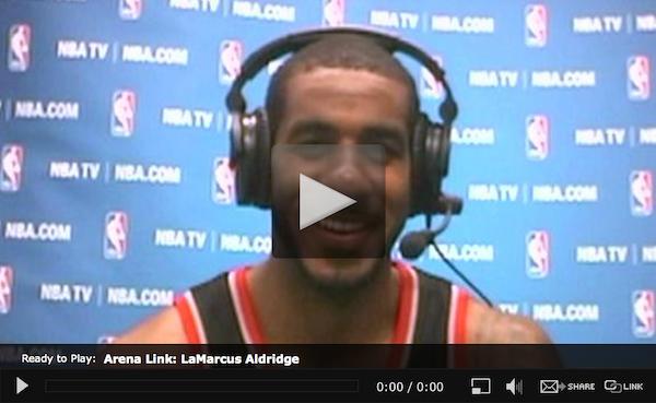 WEB-Around the League-LeMarcus-Aldridge-18JAN2014