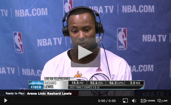 WEB-Around the League-Rashard Lewis